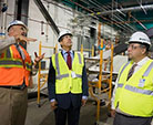 Representative Bishop tours FRIB site