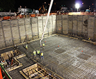 First Structural Concrete Placement for Linac Tunnel a Success