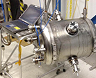 Industry-built cavity successfully tested at JLab