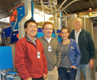 Lianting Sun and Guillaume Machicoane collaborated with Janilee Benitez and Claude Lyneis at Lawrence Berkeley National Laboratory. Tests using the VENUS ion source more than doubled the previous world record for high charge state uranium production.