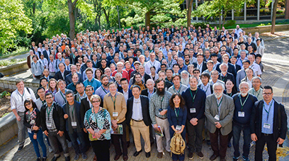 Pictured are participants at the 28th Linear Accelerator Conference (LINAC 16), hosted by FRIB from 25-30 September at Michigan State University.