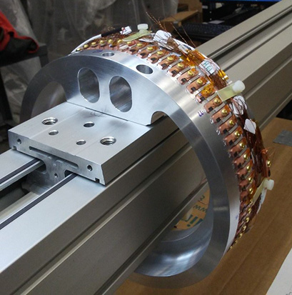 FRIB has designed and built a field mapper for use on the magnets of the fragment separator.