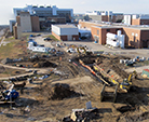 Utility relocation prepares FRIB site for construction